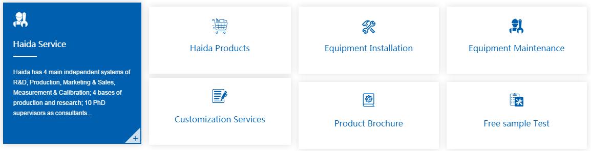 http://www.haidatestequipment.com/haida-service.htm