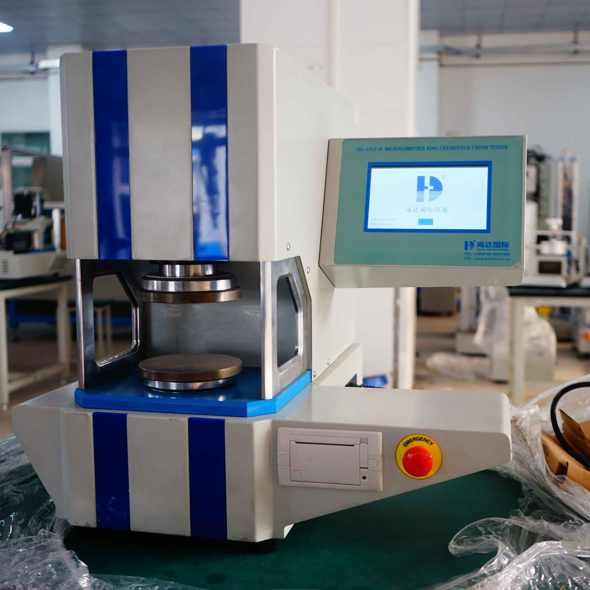 Crushing Strength Testing Machine For Paper Products HD-A513-3