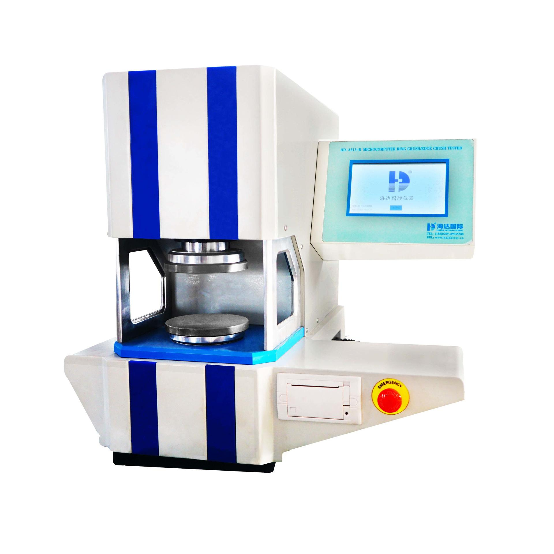 Crushing Strength Testing Machine For Paper Products HD-A513-B