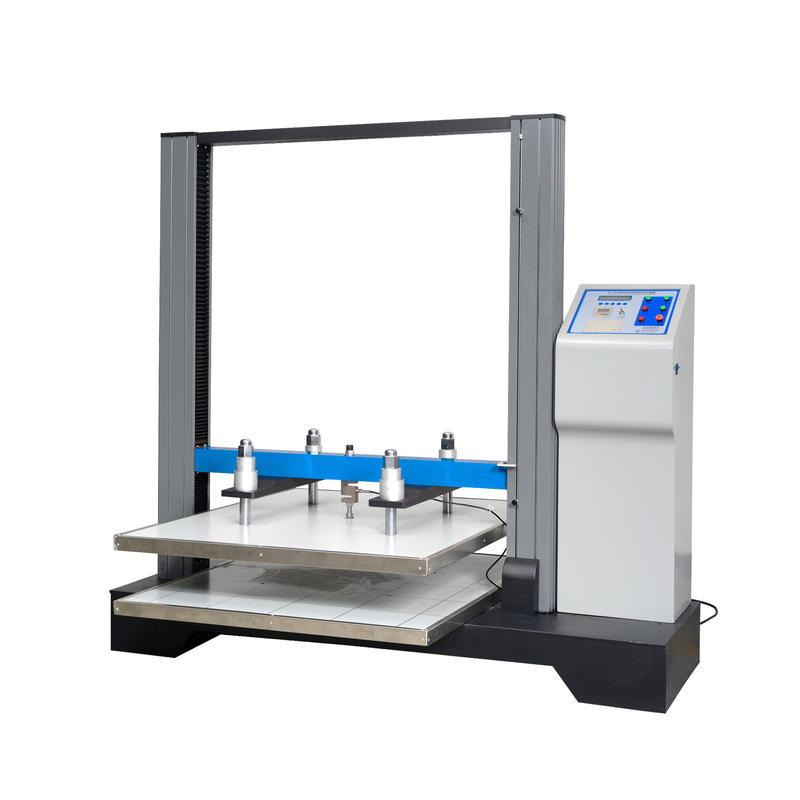 Corrugated carton tester