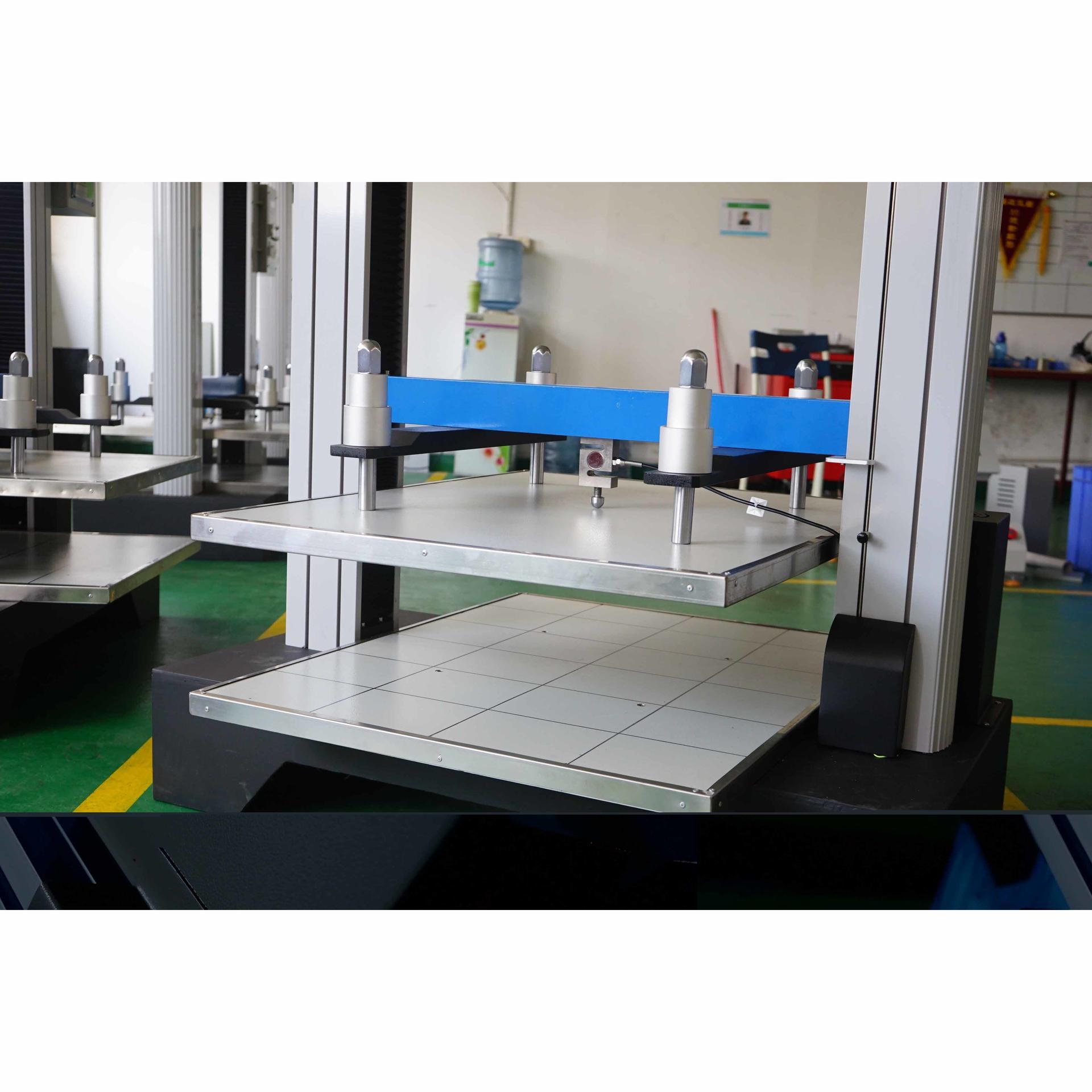 Carton compressive tester