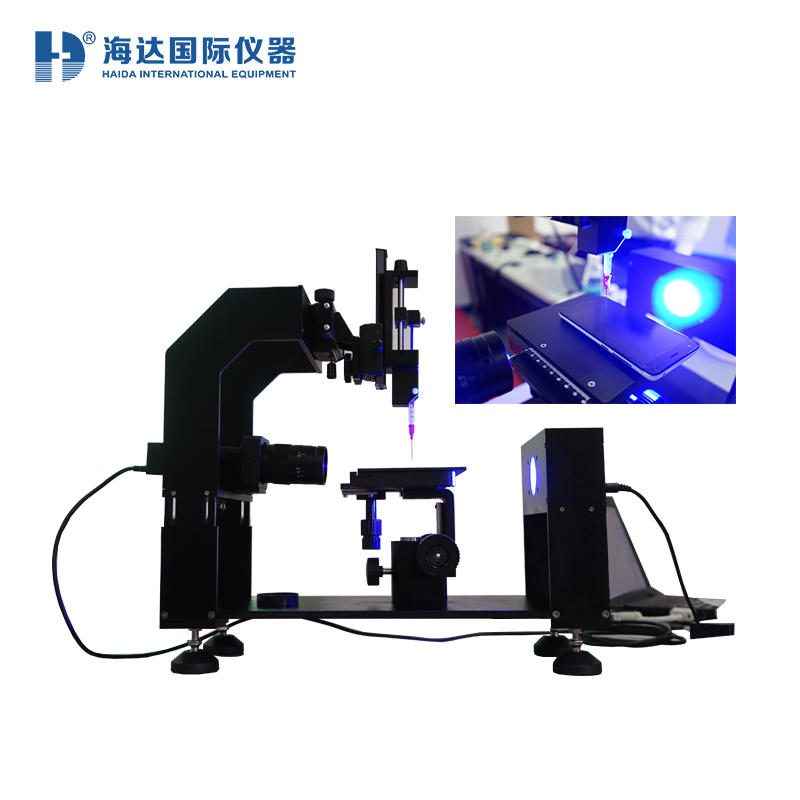 Coordinate Measuring Machine Contact Angle Meter