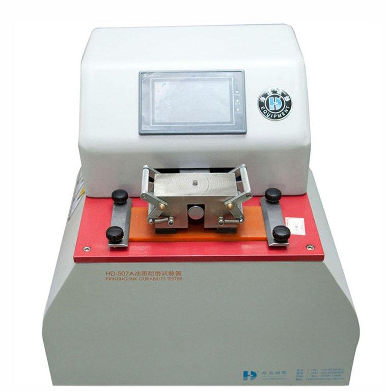 Ink proofing test machine