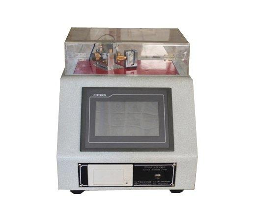 Electronic stiffness of paper testing equipment