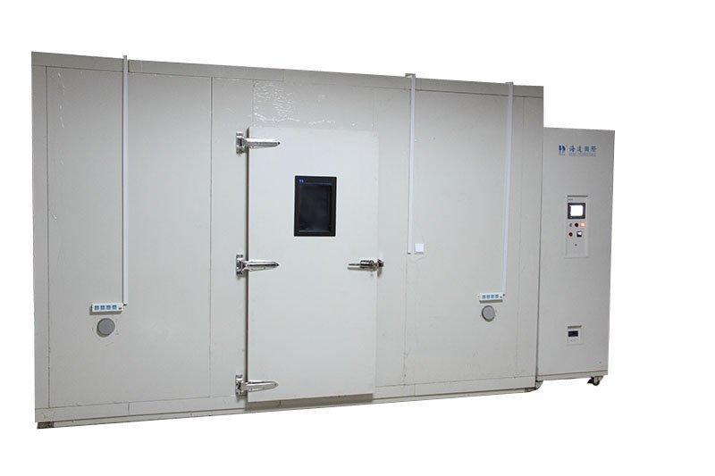 Walk-in temperature and humidity test room