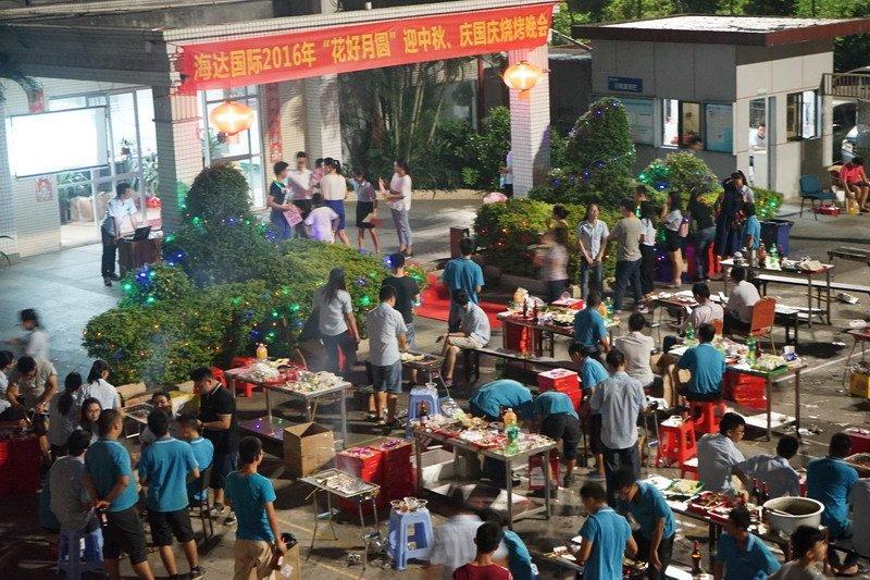 The Mid-Autumn festival activities