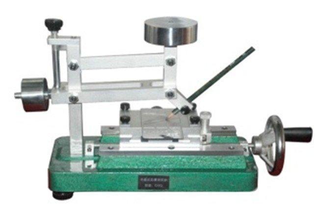 Portable pencil hardness tester