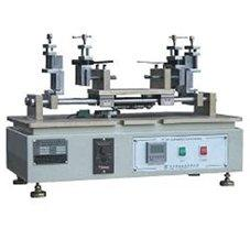 Reciprocating power cord plug insertion force testing machines
