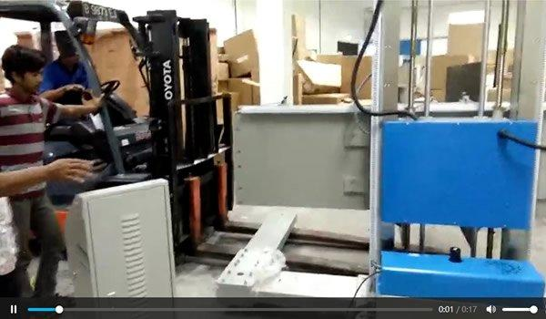 Indonesian customer installation service process - clamp tester