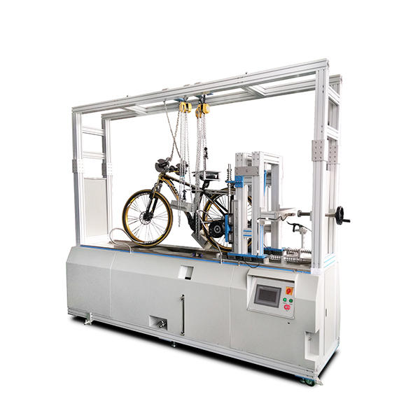 Dynamic road bike testing machine