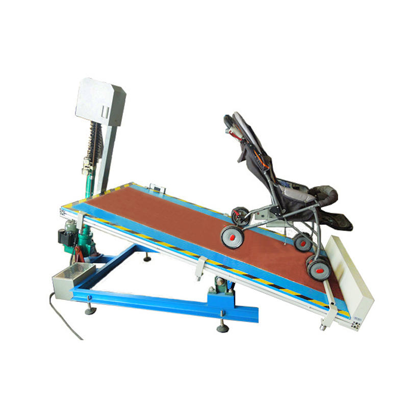 Stroller stability testing platform