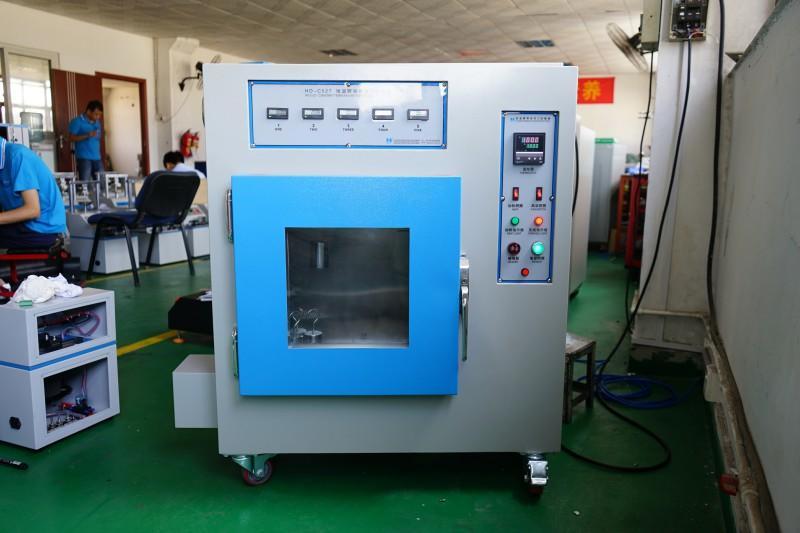 Constan temperature tape retentivity testing machine