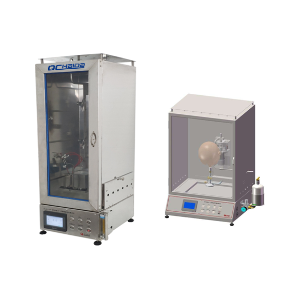 Mask flame retardant performance tester