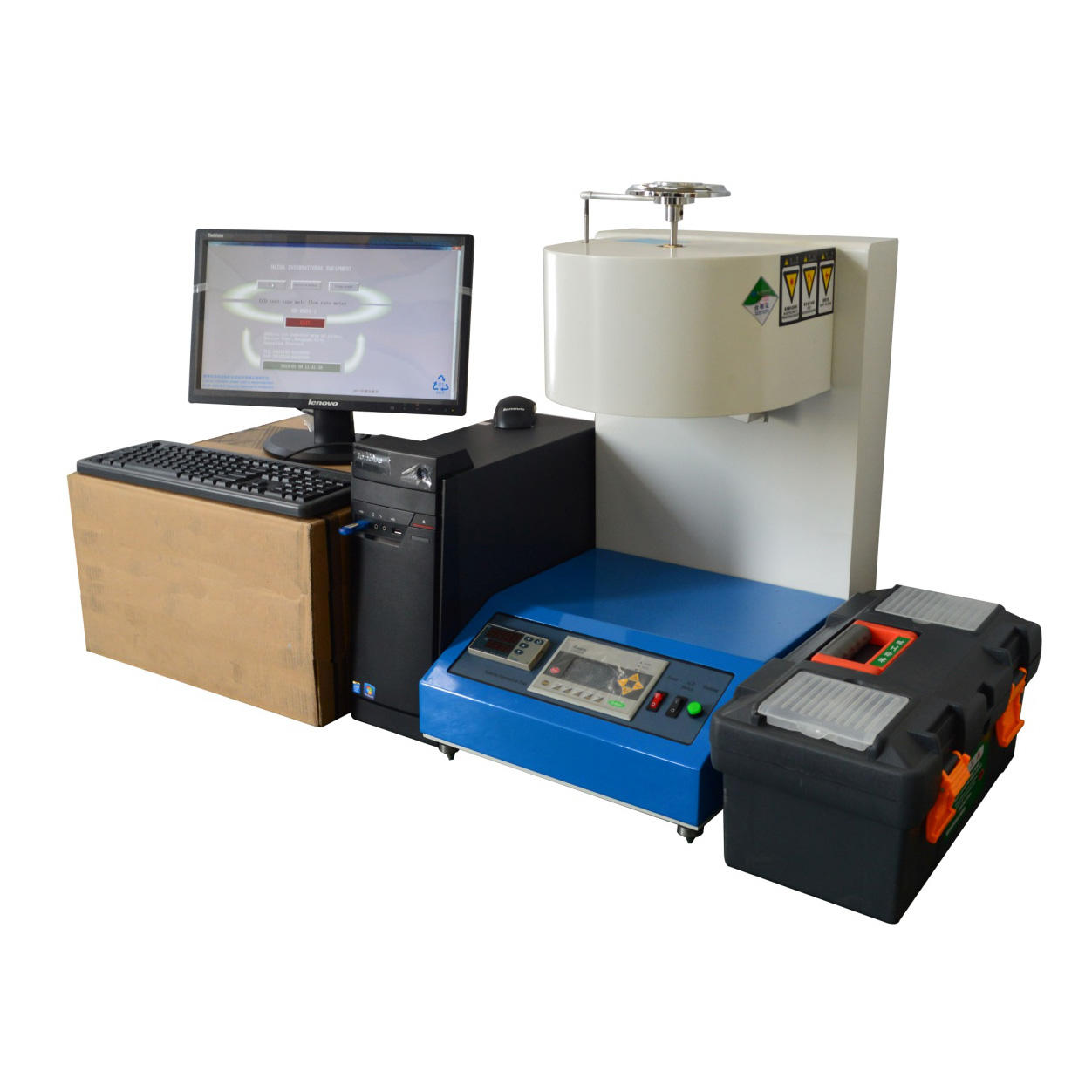 Non-woven Melt Flow Index Tester (MFR +MVR+PC)