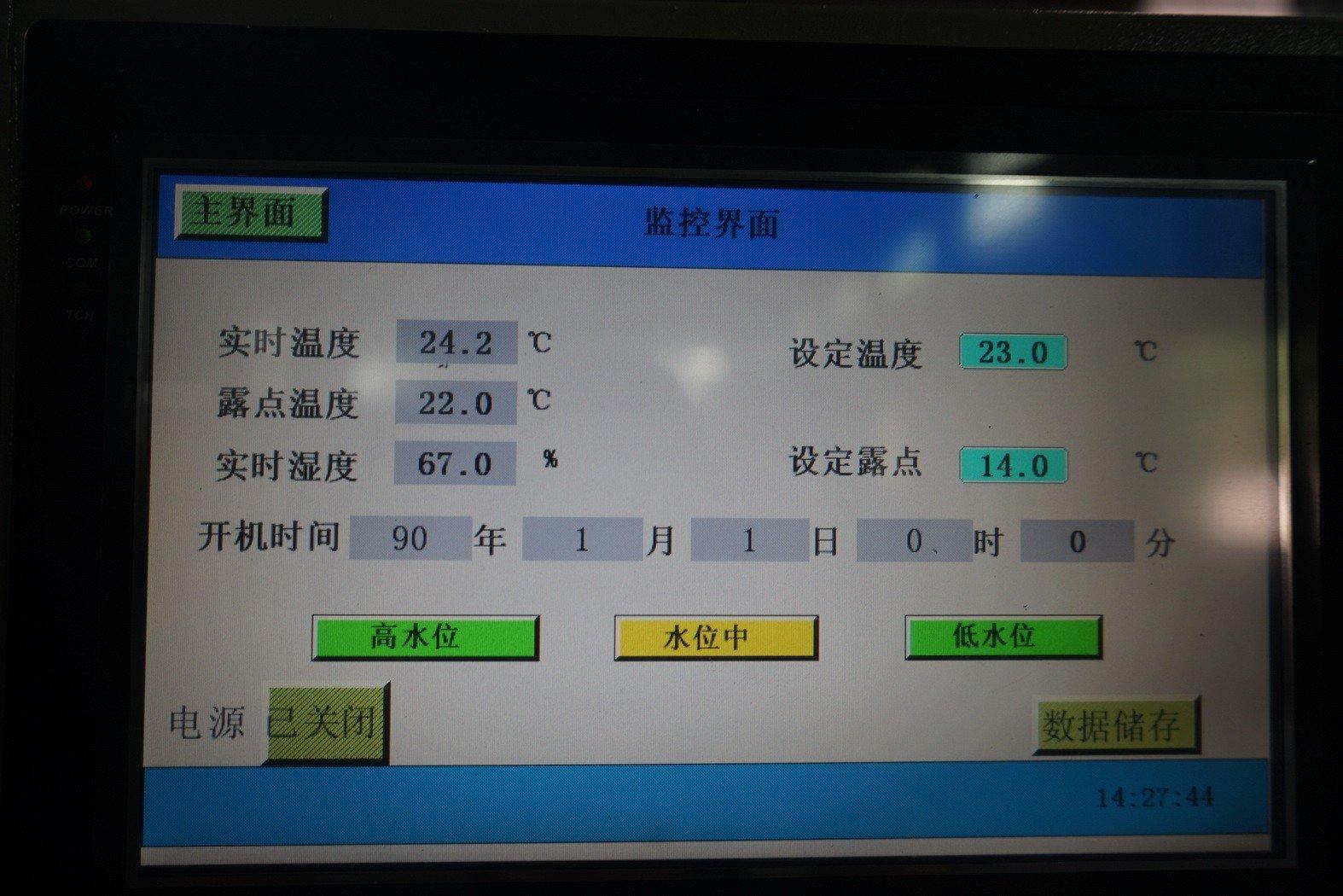 Formaldehyde Test Chamber controller