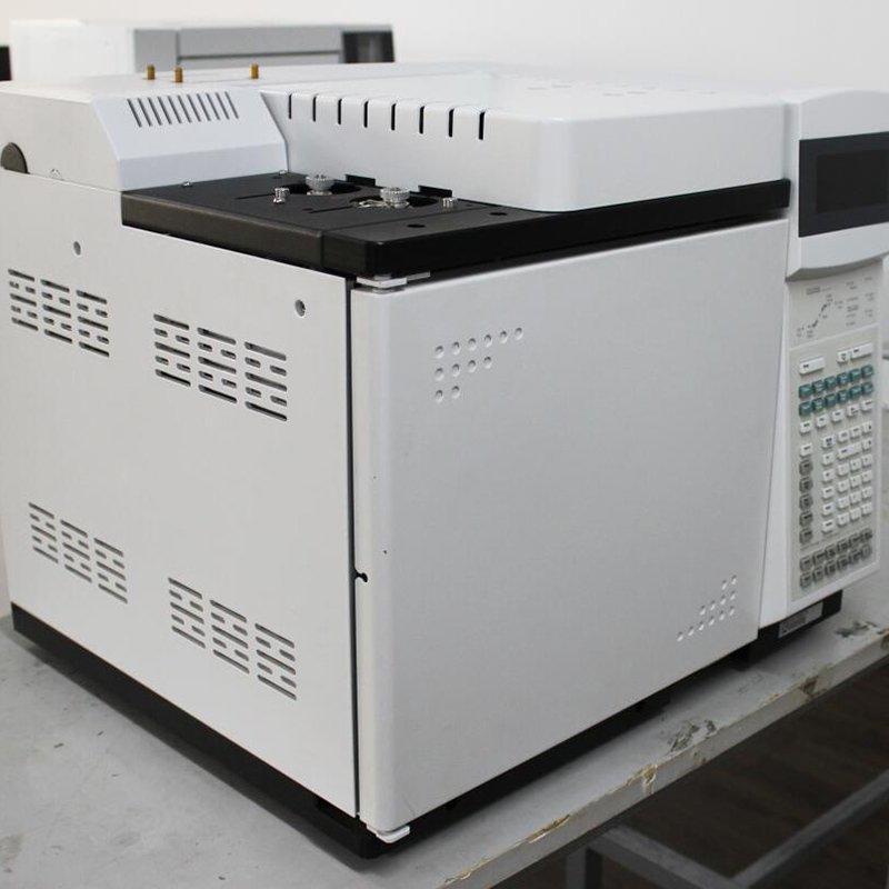 Automatic Sampling Gas Chromatograph