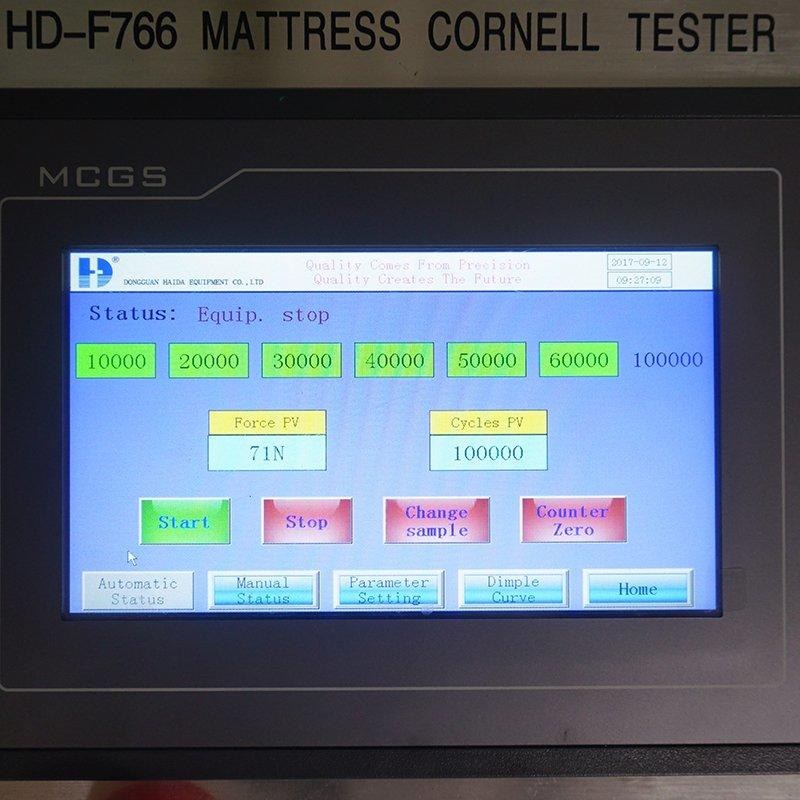 Mattress Intergrated Tester