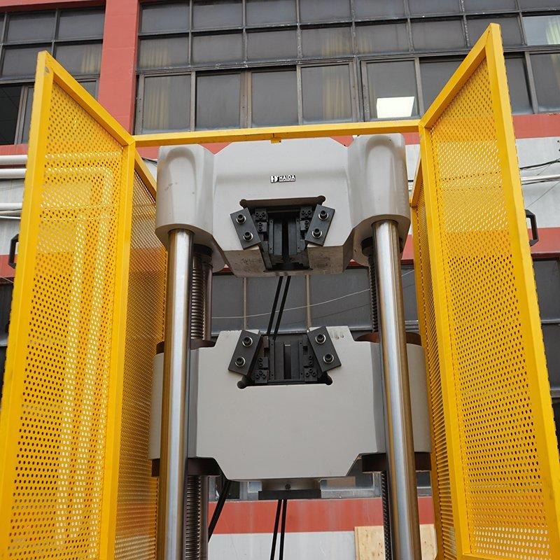 Steel Tensile Test Machine
