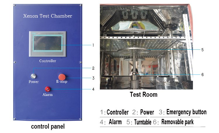 xenon aging test chamber