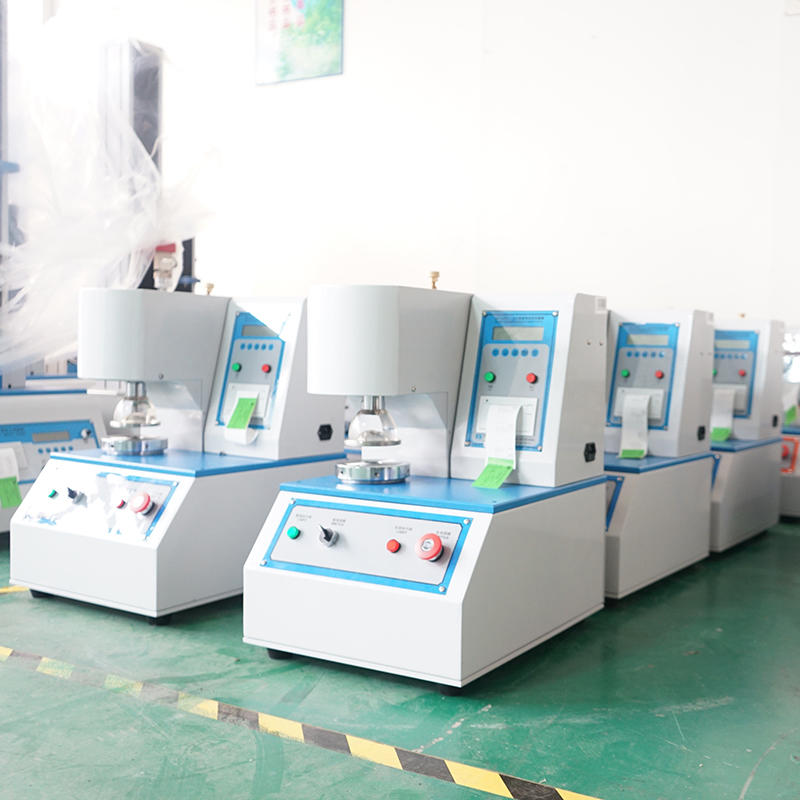 Burst strength testing machine