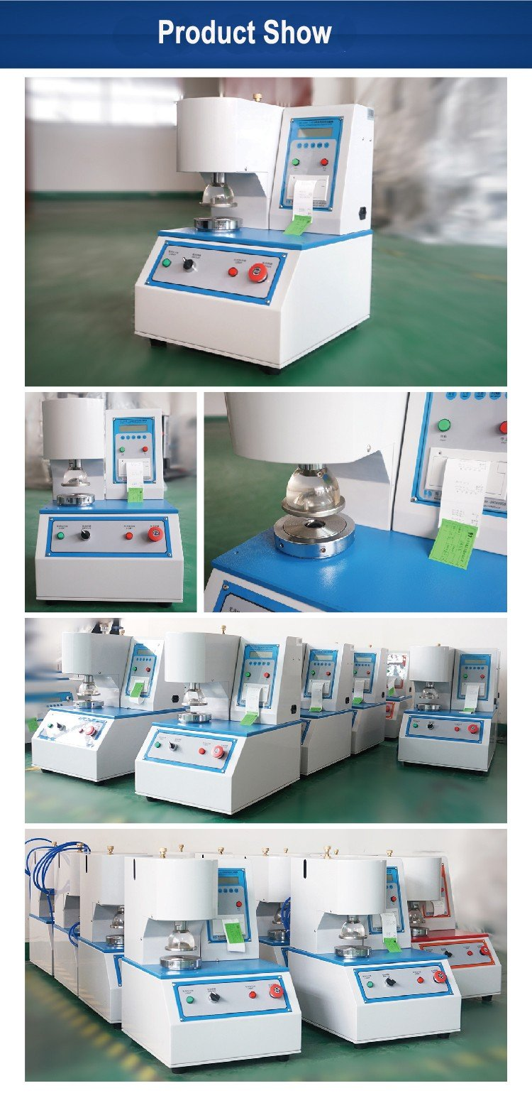burst strength test machine