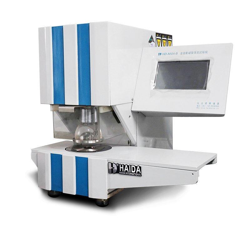 Automatic Bursting Strength Test Machine