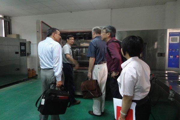 American Customers Visited to Our Company