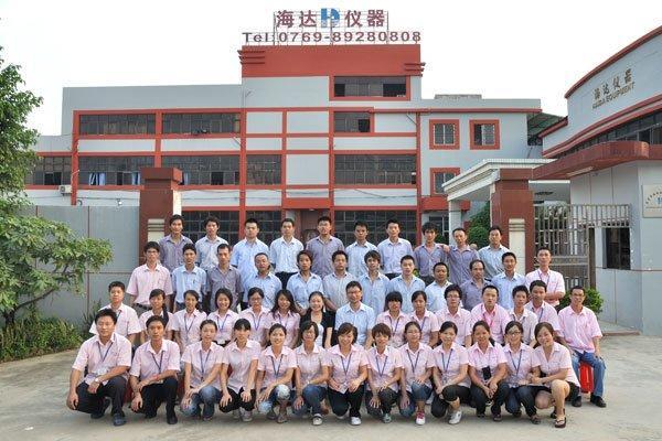 Group Photo of Haida NO.1 Manufacturing Factory