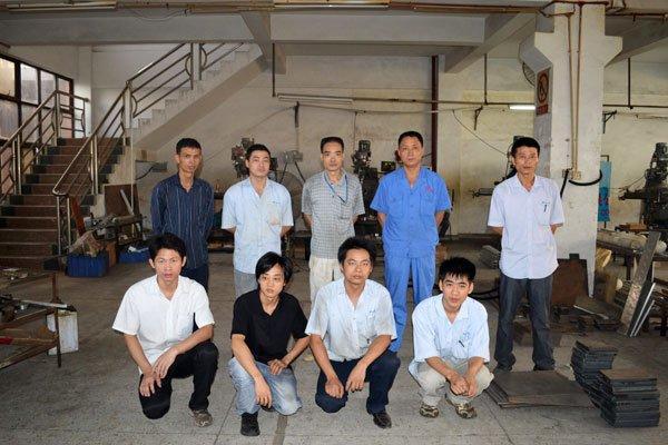 Machining Team of Haida NO.1 Manufacturing Factory