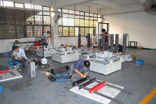 Assembling Department at Work