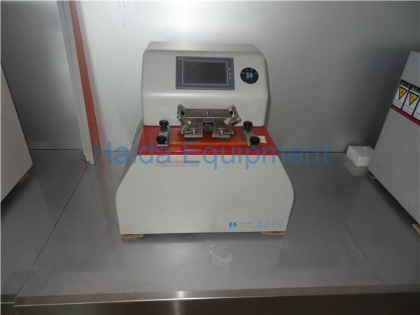Touch screen type ink discoloration testing machine