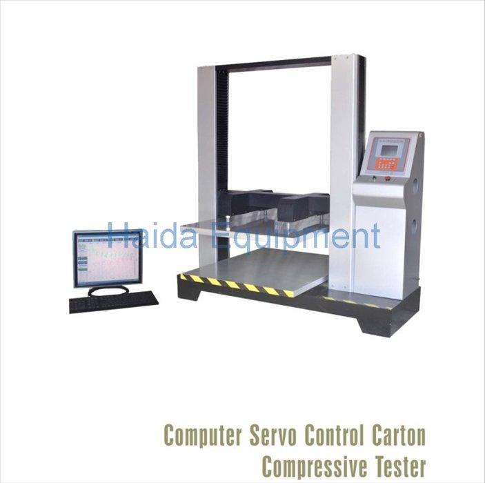 Computer Control Paper Box Packaging Testing Equipment