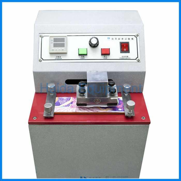 Ink Rubbing Fastness Testing Instrument