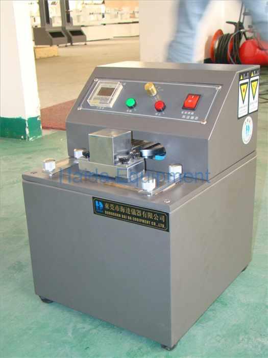 Ink Rub Resistance test Machine