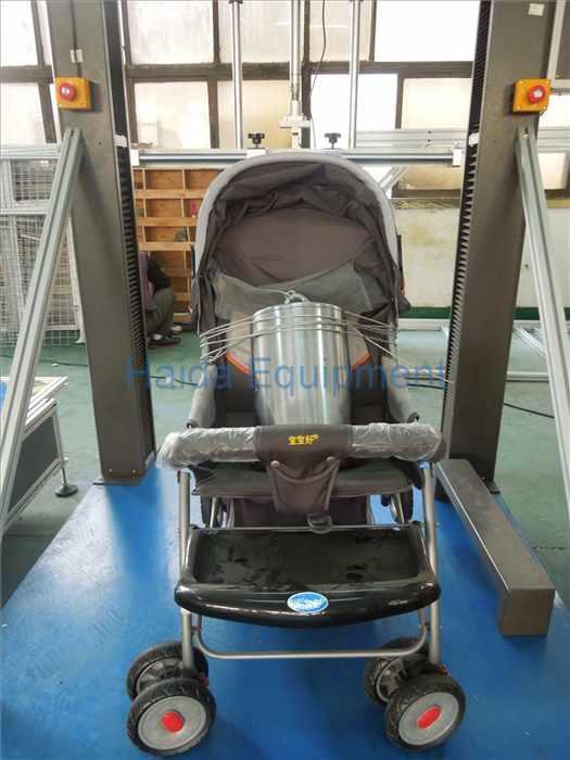 Stroller lift pressure durability tester