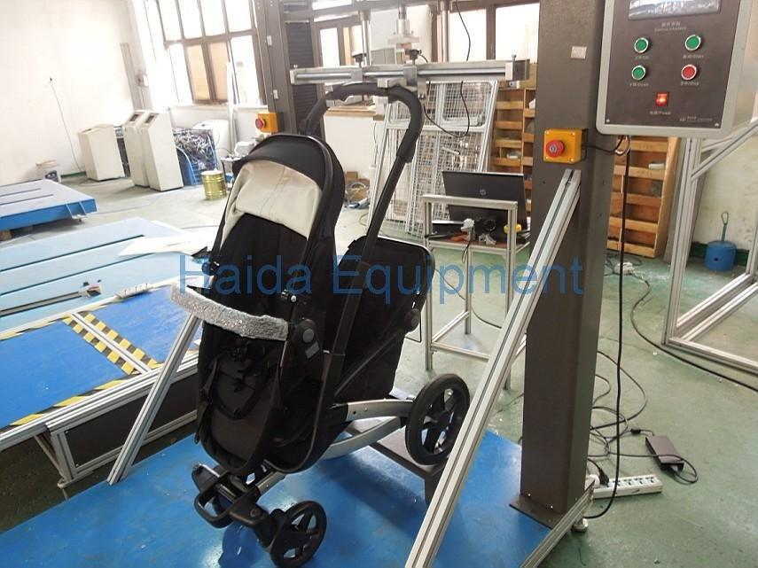 Baby handlebar rotation testing machine