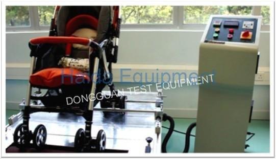 Baby wheel brake abrasion testing machine