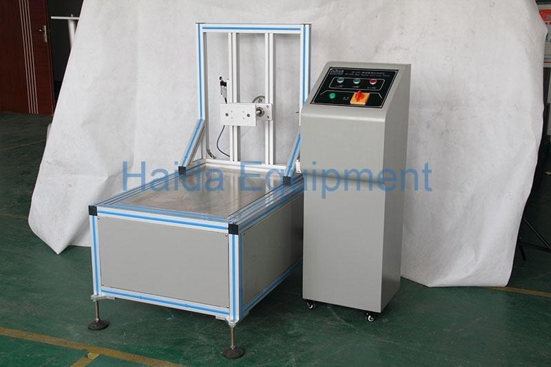Beer box sliding angle test machine